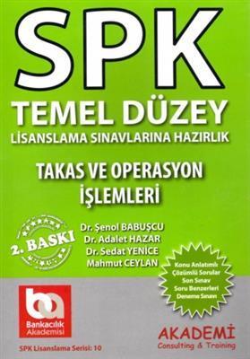 SPK Temel Düzey Takas ve Operasyon Akademi Yayınları