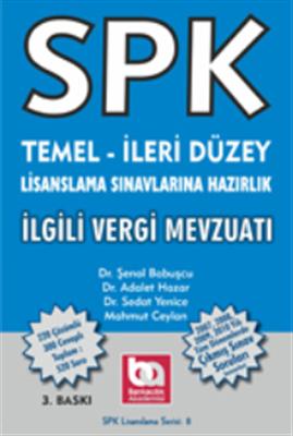 SPK Temel-İleri Düzey İlgili Vergi Mevzuatı Akademi Yayınları