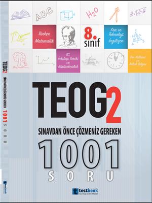 Testbook Yayınları TEOG 2 Sınavdan Önce Çözülmesi Gereken 1001 Sihirli Sorular