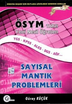 YGS Sayısal Mantık Problemleri Gür Yayınları