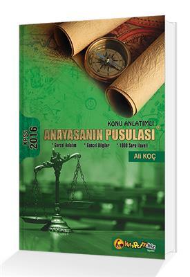 2016 Kpss Anayasnın Pusulası Konu Anlatımlı Kitapcim Yayınları ( Ali Koç )