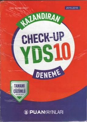 Puan Akademi Yayınları Kazandıran Check Up Yds 10 Deneme