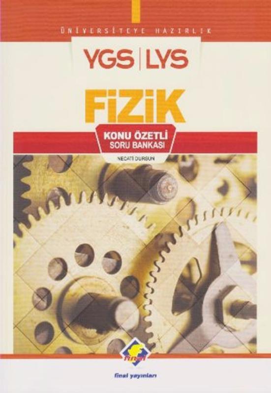 YGS LYS Fizik Konu Özetli Soru Bankası Final Yayınları