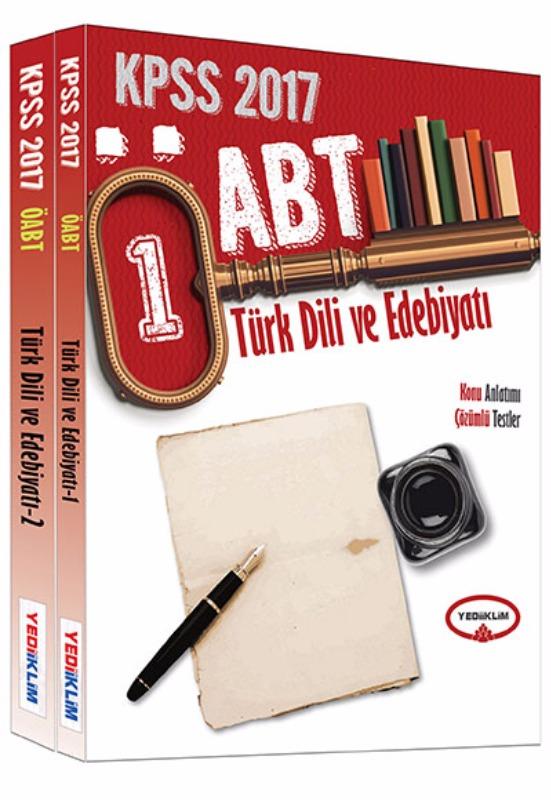 Yediiklim 2017 ÖABT Türk Dili ve Edebiyatı Konu Anlatımlı Modüler Set