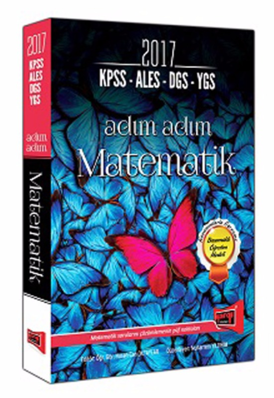 KPSS ALES DGS YGS LYS için Adım Adım Matematik Yargı Yayınları