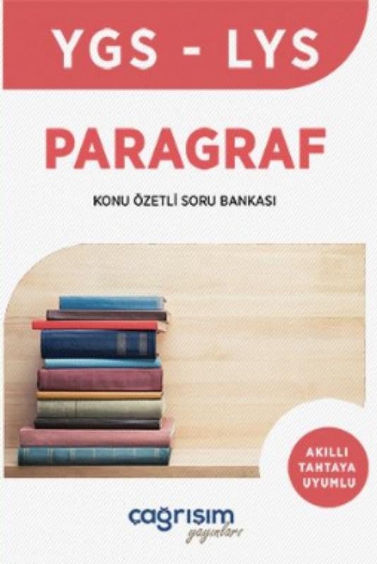 Çağrışım Yayınları YGS Paragraf Konu Özetli Soru Bankası