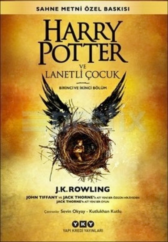 Harry Potter ve Lanetli Çocuk - 8. Kitap - YKY Yayınları