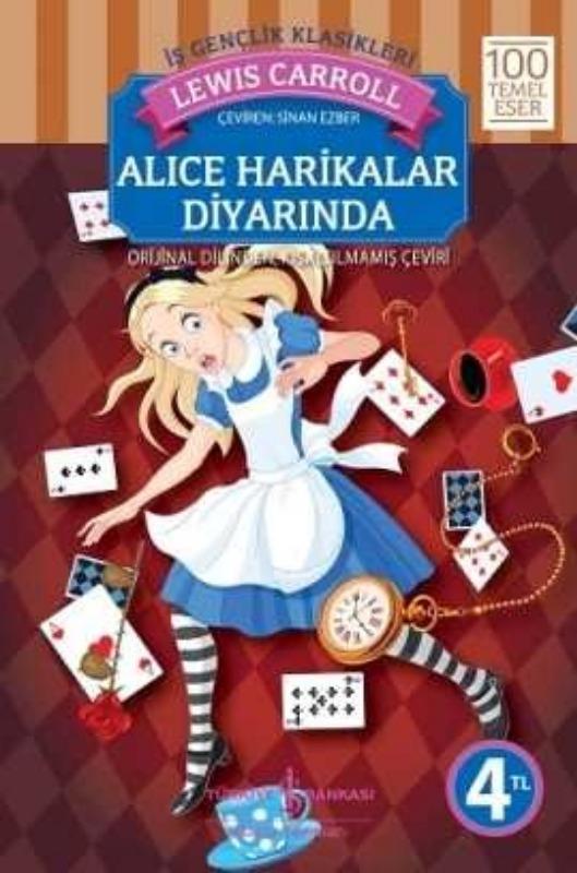 Alice Harikalar Diyarında İş bankası Yayınları