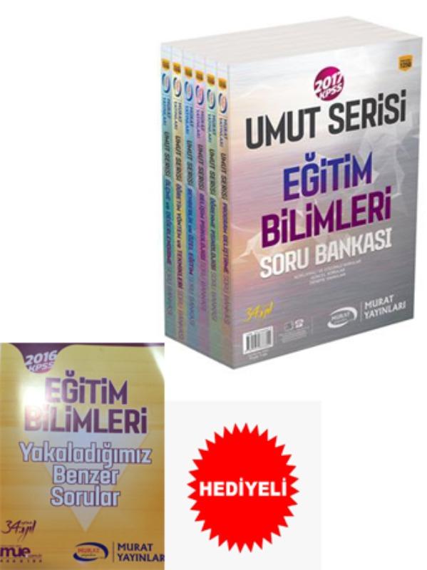 KPSS Eğitim UMUT SERİSİ Modüler Soru Bankası Seti Murat Yayınları