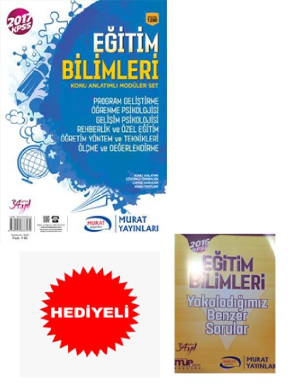 Eğitim Bilimleri Konu Anlatımlı Moduler Set Murat Yayınları