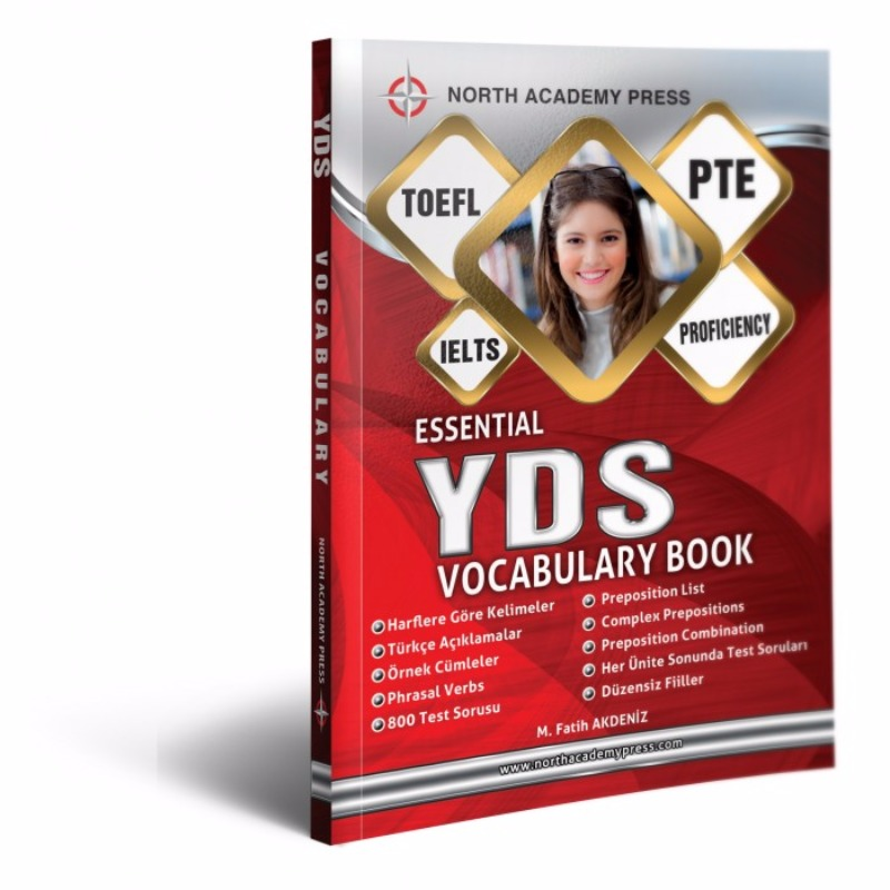 2017 Kuzey Akademi Yayınları  YDS Essential Vocabulary For Academic Examinations