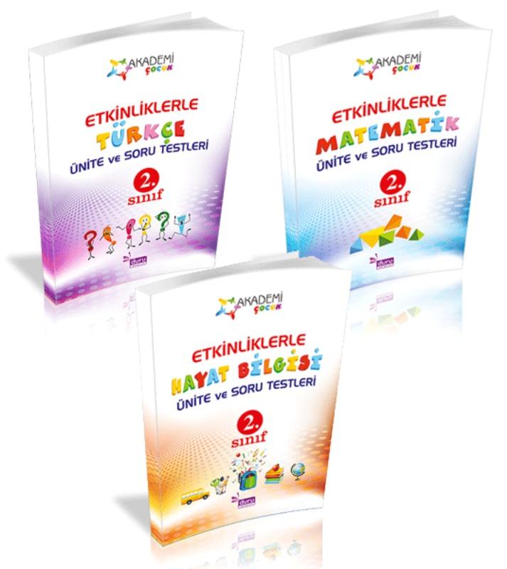 Akademi Çocuk Etkinliklerle Ünite Soru ve Testleri 2. Sınıf Set Duru Yayınları