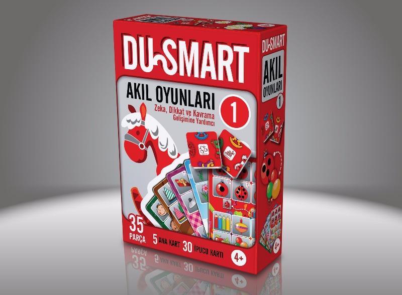 1 DU Smart  4 Yaş Ve Üzeri Zeka Dikkat Ve Kavrama Gelişimine Yardımcı Duru Yayınları