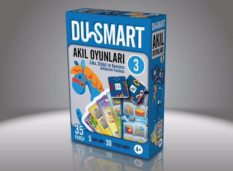 3 DU Smart  4 Yaş Ve Üzeri Zeka Dikkat Ve Kavrama Gelişimine Yardımcı Duru Yayınları