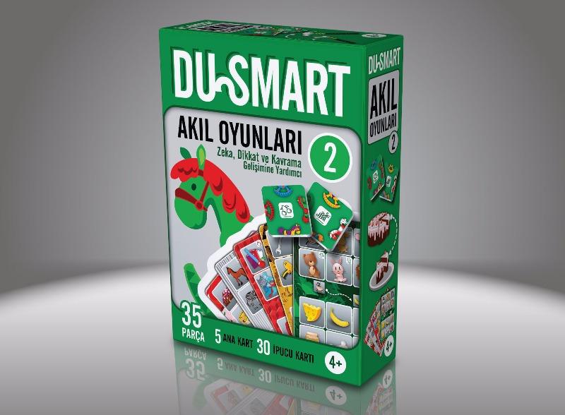 2 DU Smart  4 Yaş Ve Üzeri Zeka Dikkat Ve Kavrama Gelişimine Yardımcı Duru Yayınları