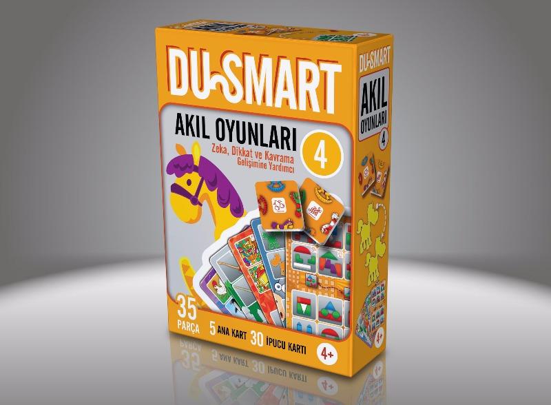 4 DU Smart  4 Yaş Ve Üzeri Zeka Dikkat Ve Kavrama Gelişimine Yardımcı Duru Yayınları