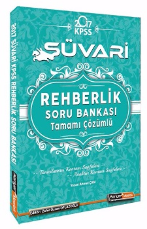 Kariyer Meslek Yayınları Süvari 2017 KPSS Rehberlik Tamamı Çözümlü Soru Bankası