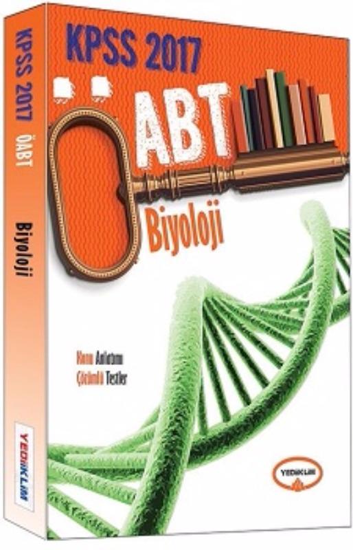 Yediiklim Yayınları 2017 ÖABT Biyoloji Öğretmenliği Konu Anlatımlı