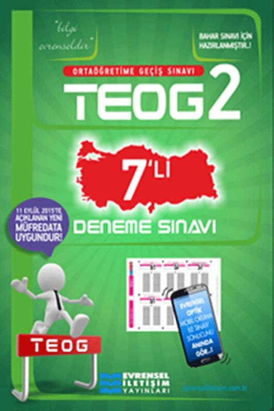 8. Sınıf TEOG2 7 Li Deneme Sınavı Evrensel İletişim Yayınları