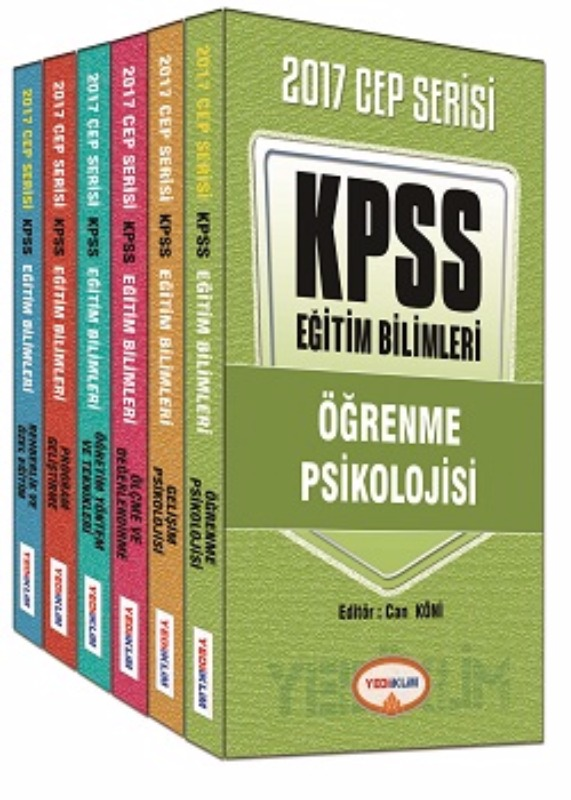 Yediiklim Yayınları 2017 KPSS Eğitim Bilimleri Konu Anlatımlı Cep Serisi