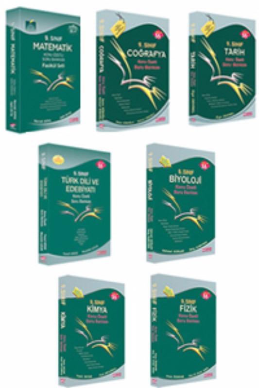 Esen Yayınları 9.Sınıf Konu Özetli Soru Bankası Set 7 kitap