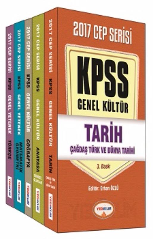 Yediiklim Yayınları 2017 KPSS GY GK Konu Anlatımlı Modüler Cep Serisi