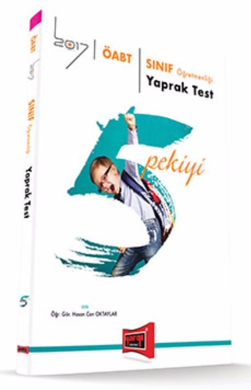Yargı Yayınları 2017 ÖABT 5 PEKİYİ Sınıf  Yaprak Test