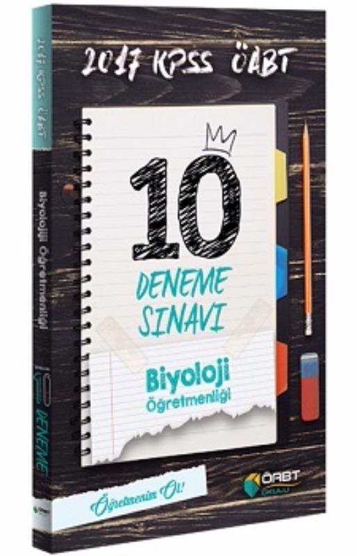 Öabt  Yayınları  Biyoloji Öğretmenliği Çözümlü 10 Deneme Sınavı