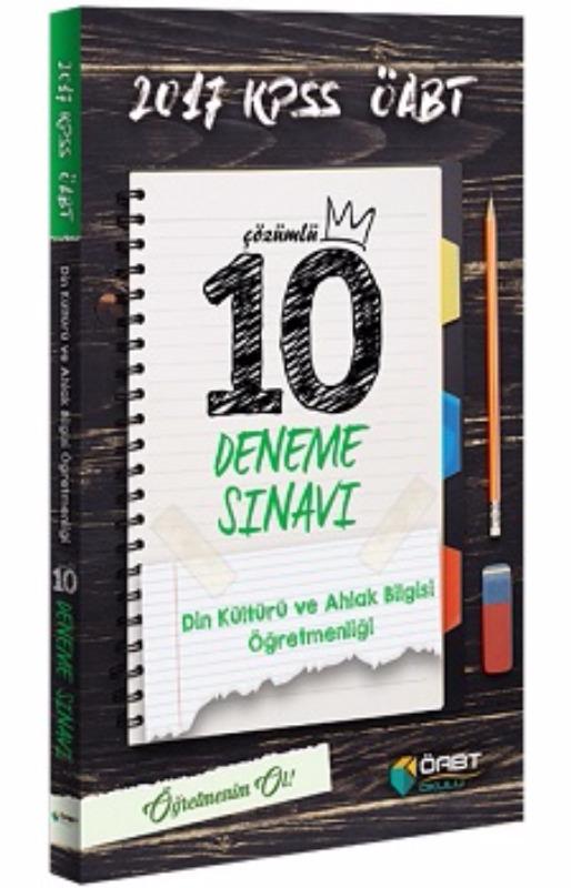 Öabt Okulu Din Kültürü ve Ahlak Bilgisi Öğretmenliği Çözümlü 10 Deneme Sınavı