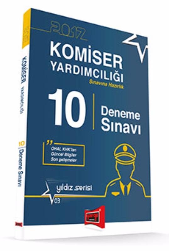 Yargı Yayınları 2017 Komiser Yardımcılığı Sınavına Hazırlık 10 Deneme Sınavı Yıldız Serisi 3