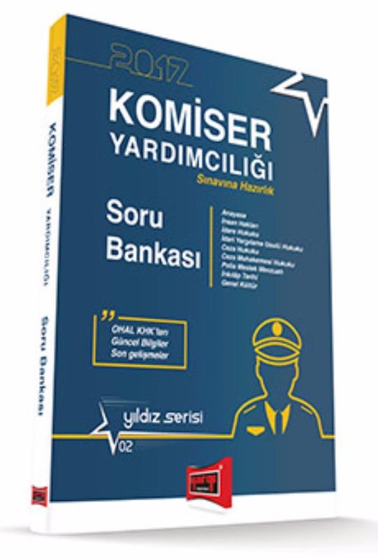 Yargı Yayınları 2017 Komiser Yardımcılığı  Hazırlık Soru Bankası Yıldız Serisi 2