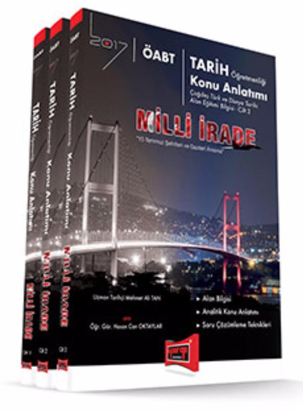 Yargı Yayınları 2017 ÖABT MİLLİ İRADE Tarih  Konu Anlatımlı Modüler Set