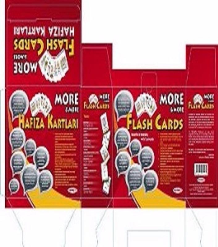 More More Flash Cards İngilizce Hafıza Kartları