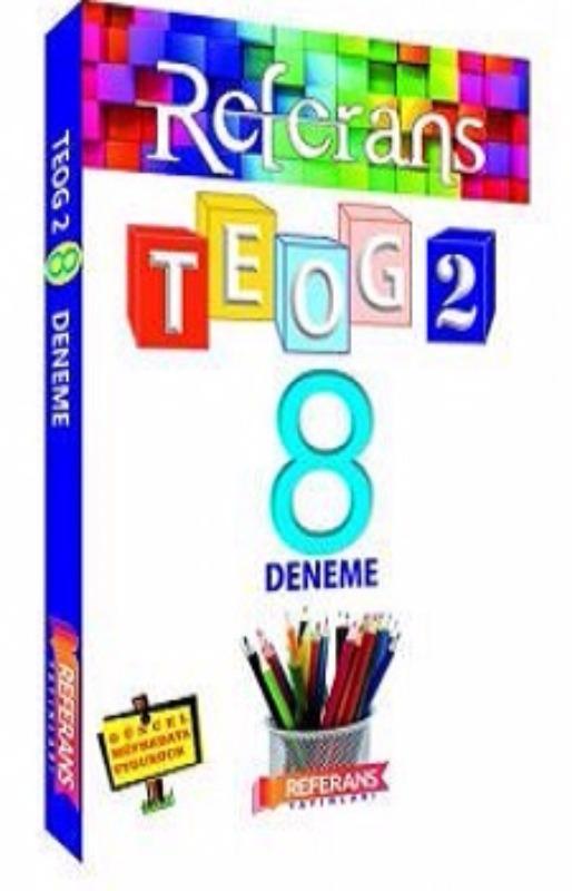 Referans Yayınları 8. Sınıf TEOG 2. Dönem 8 Fasikül Deneme