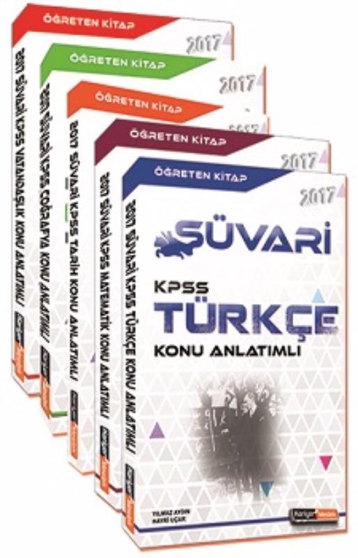 Kariyer Meslek Yayınları 2017 Süvari KPSS GY GK Konu Anlatımlı Modüler Set