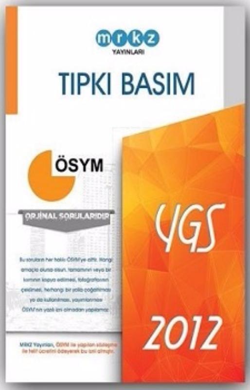 Merkez Yayınları YGS 2012 ÖSYM Tıpkı Basım