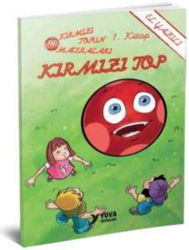 Kırmızı Topun Maceraları (10 Kitap Set, El Yazılı) Yuva Yayınları