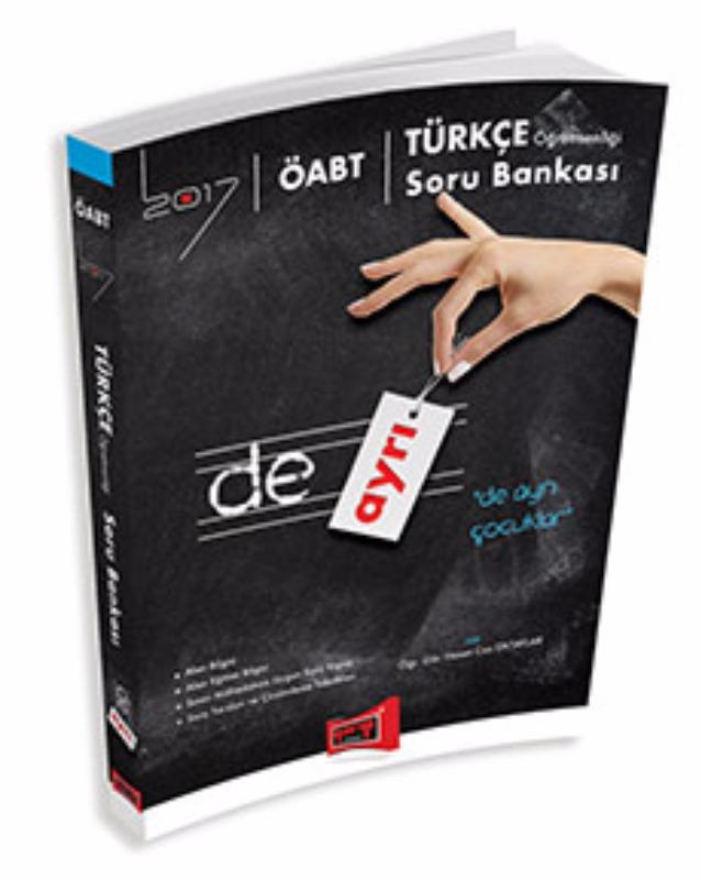 Yargı Yayınları 2017 ÖABT DE AYRI Türkçe  Soru Bankası