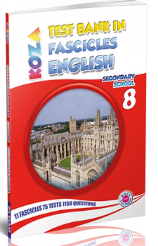 Koza 8.Sınıf İngilizce Fasikül Fasikül Soru Bankası