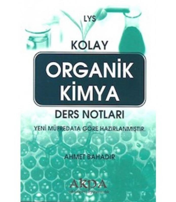 LYS Kolay Organik Kimya Ders Notları Akköprü Yayınları