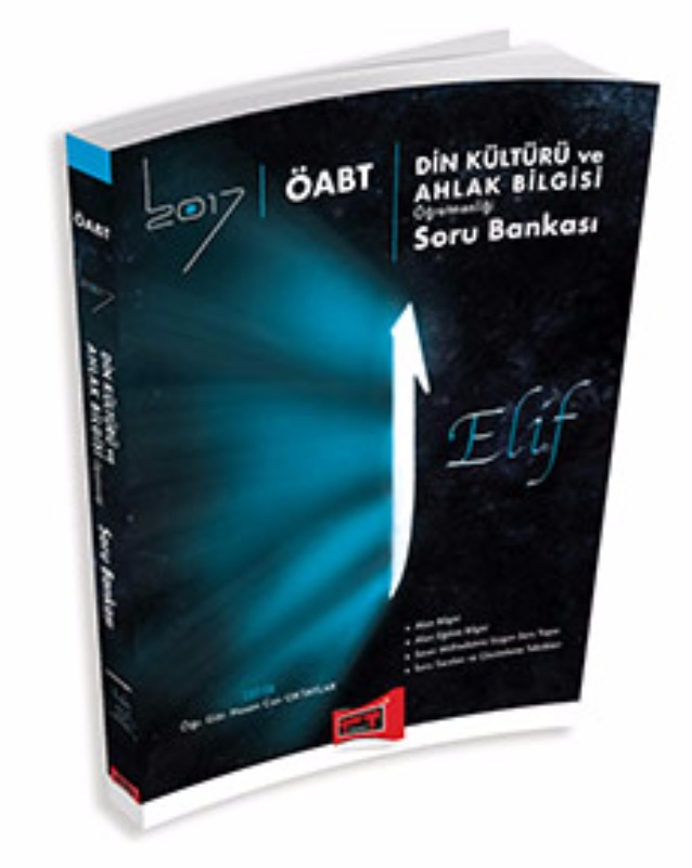 Yargı Yayınları 2017 ÖABT ELİF Din Kültürü ve Ahlak Bilgisi  Soru Bankası