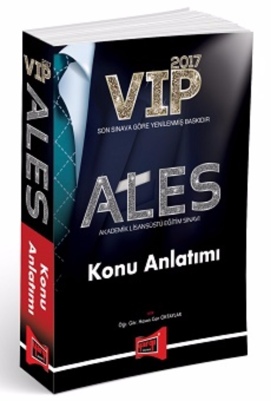 YARGI ALES VIP Konu Anlatımı 2017