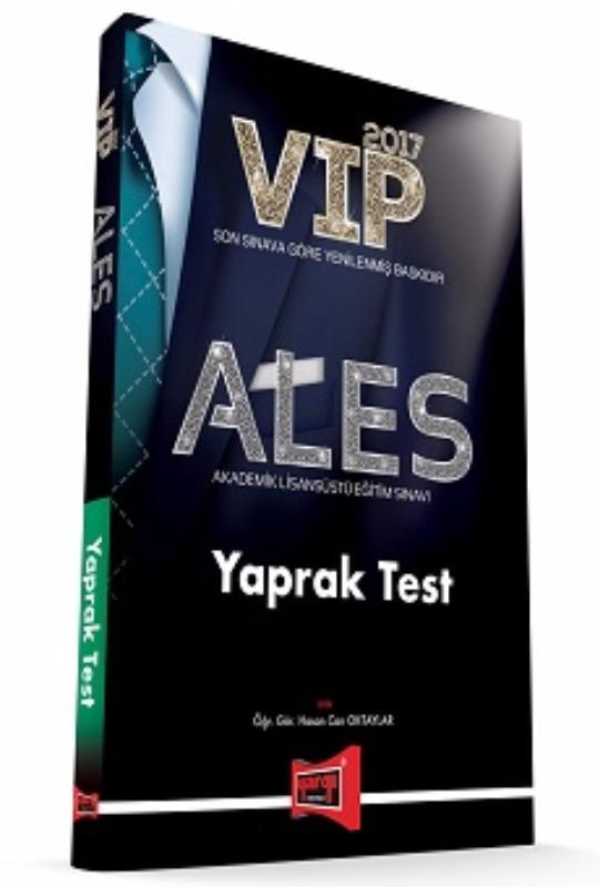 Yargı 2017 ALES VIP Yaprak Test