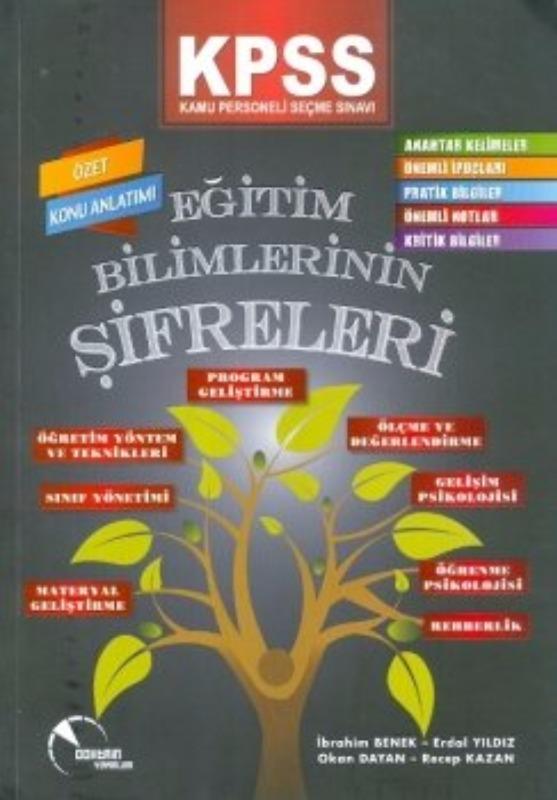 KPSS Eğitim Bilimlerinin Şifreleri Özet Konu Anlatımı Doktrin Yayınları 2017