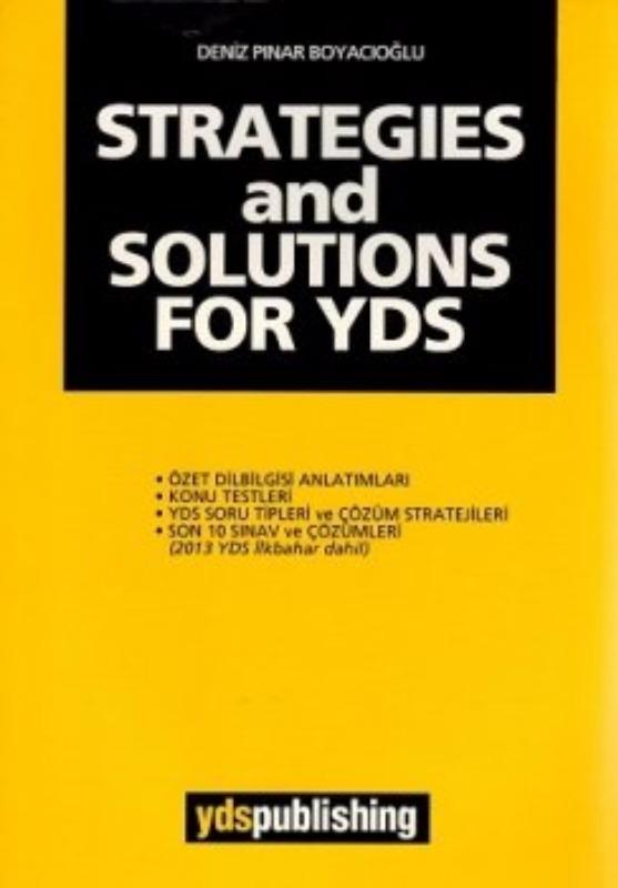 Ydspuplishing Yayınları STRATEGIES and SOLUTIONS FOR YDS