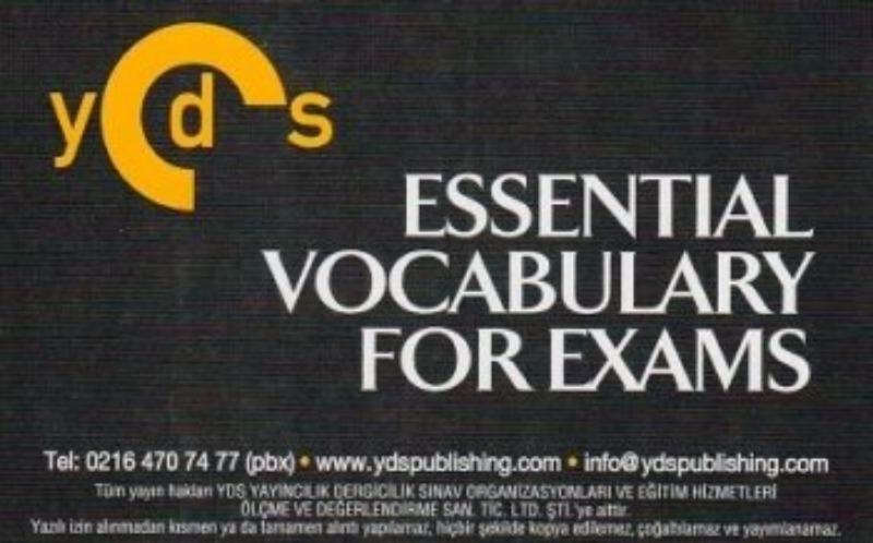 Ydspuplishing YDS Grade 10 ESSENTIAL VOCABULARY FOR EXAMS