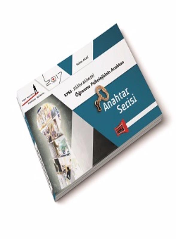 Yargı Yayınları 2017 KPSS Eğitim  Anahtar Serisi Öğrenme Psikolojisinin Anahtarı
