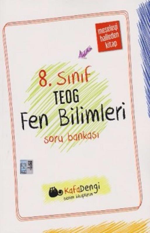 Kafadengi Yayınları 8. Sınıf TEOG Fen Bilimleri Soru Bankası