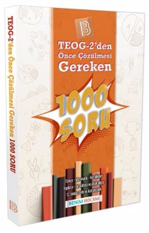 Benim Hocam Yayınları TEOG 2 den Çözülmesi Gereken 1000 Soru