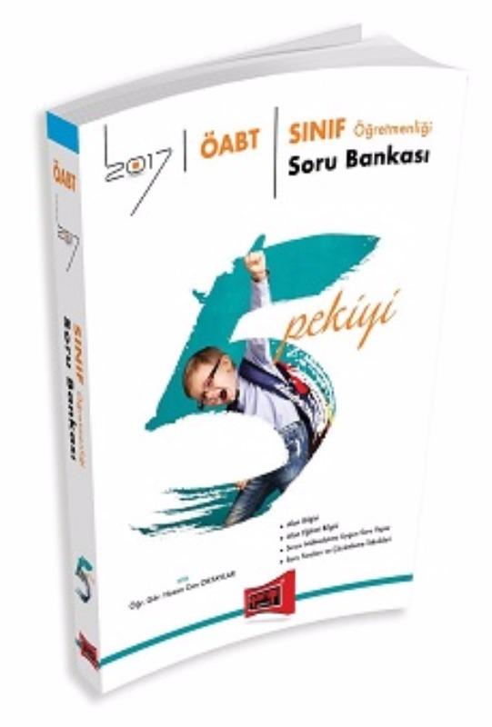 Yargı Yayınları 2017 ÖABT 5 PEKİYİ Sınıf  Soru Bankası